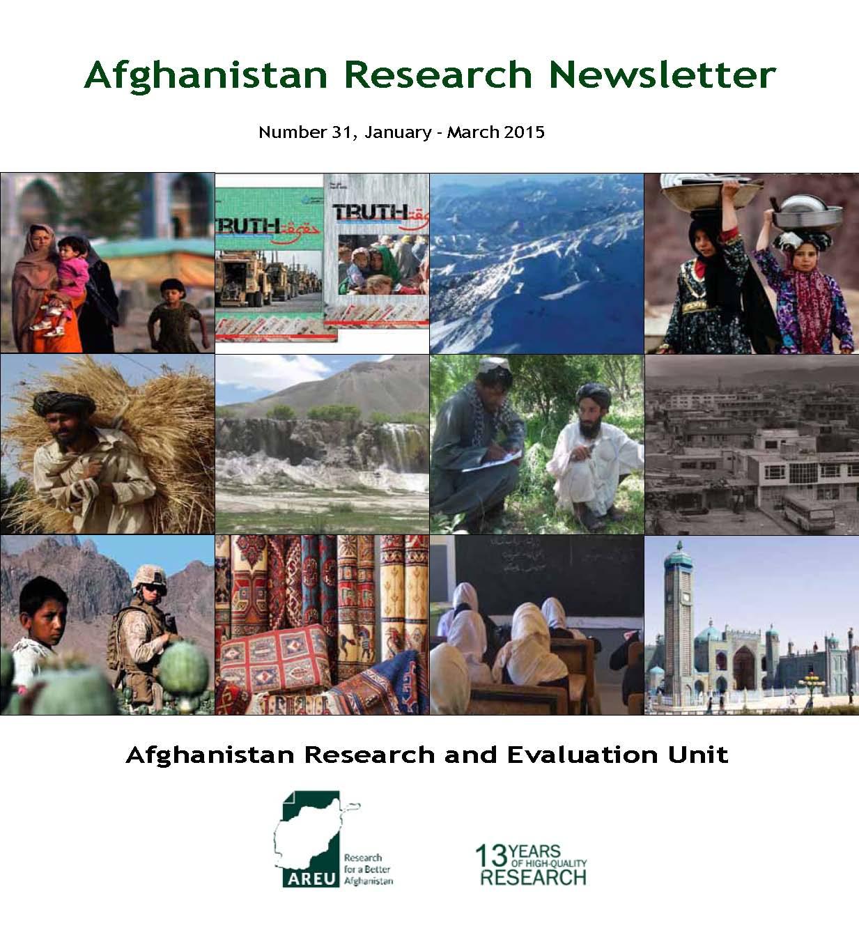 Newsletter 31 cover