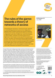 1618E-The rules of the game_Towards a theory of networks of access