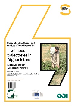 1703E-Livelihood trajectories in Afghanistan Silent violence in Kandahar Province1