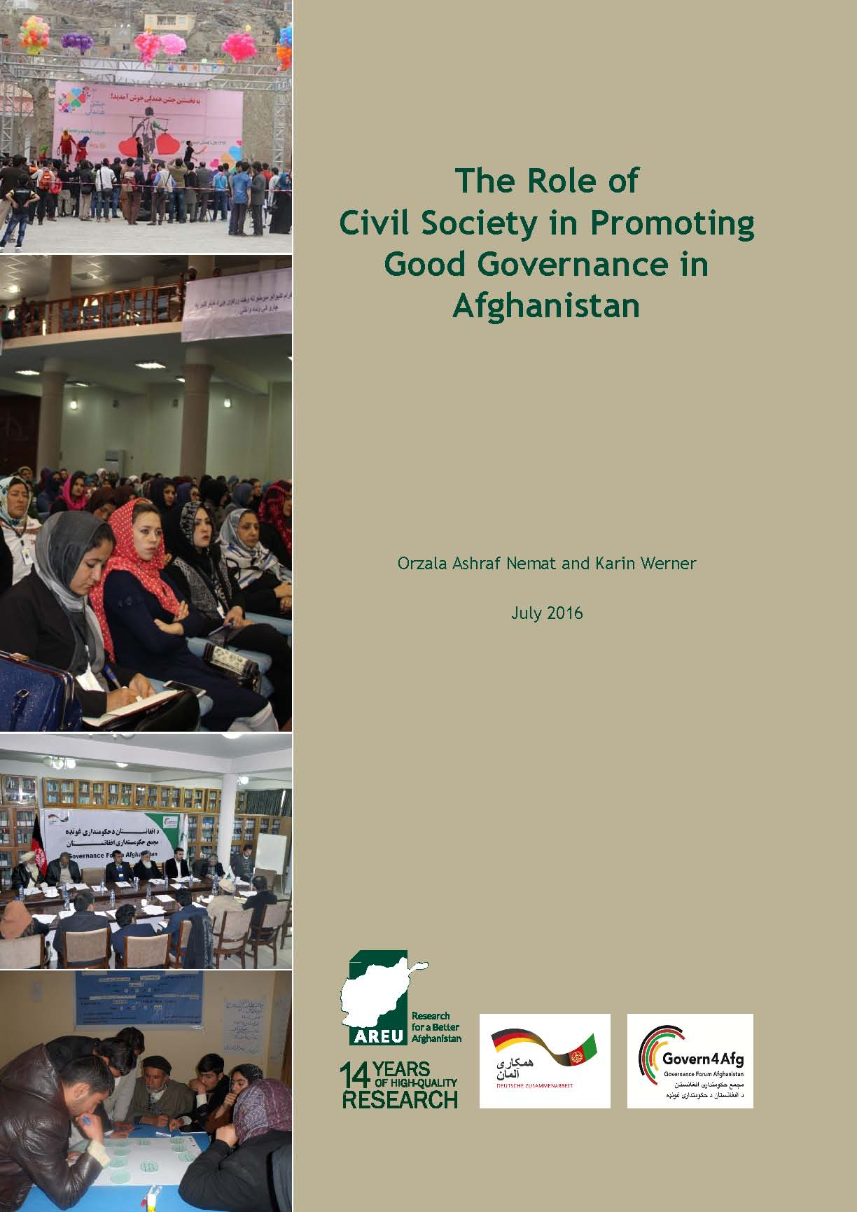 1613 The Role of Civil Society in Promoting Good Governance in Afghanistan
