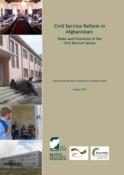 1616E Civil Service Reform in Afghanistan-Roles and Functions of the Civil Service Sector